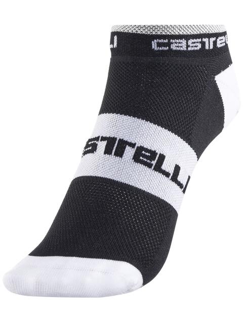 Castelli Lowboy Socks Men black/white